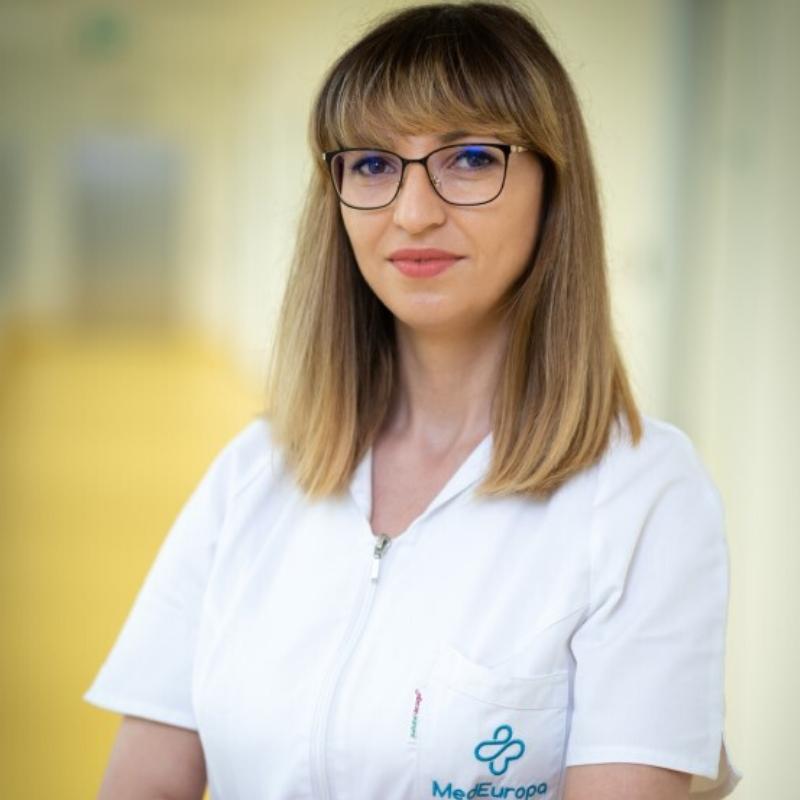 Alina Popa, fizician medical