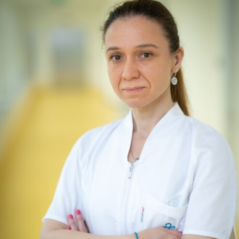 Dr. Cecilia Negrei, medic specialist radioterapie